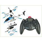 RC 3 Channel Mini Chopper 20 CM Helicopter Gyro Infrared IR Blue Pic:5