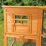 440cm Rabbit Cage Hutch Outdoor Pen Open-Air Enclosure Cage Rodent Stall Pic:3