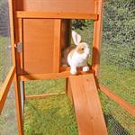 XXL Kaninchenstall Kleintierstall Hühnerstall Pic:5