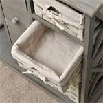 Kommode Sideboard shabby grau Pic:4