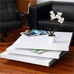 Couchtisch Wohnzimmertisch  - Weiß Pic:3