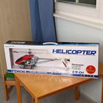 50 cm Gyro LED Helicopter RC Chopper 360 Degree + High Power Red Heli Remotely