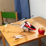 50 cm Gyro LED Helicopter RC Chopper 360 Degree + High Power Red Heli Remotely Pic:1