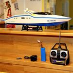 63CM RC Racing Speed Boat 2 x 380 MOTOR Ship Remote Controlled Speedboat Pic:1
