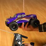 RC Racing Monstertruck High Speed Buggy Truggy Rubber Tyres Vehicle Car Truck Pic:3