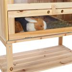 4 Etagen Kleintierstall  Mäusekäfig aus Holz Pic:1
