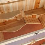 4 Etagen Kleintierstall  Mäusekäfig aus Holz Pic:2