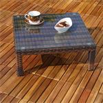 Polyrattan Lounge Couch Gartengarnitur Braun Pic:5