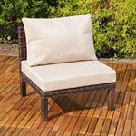 Polyrattan Lounge Couch Gartengarnitur Braun Pic:6