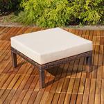 Polyrattan Lounge Couch Gartengarnitur Braun Pic:7