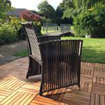 Poly Rattan Gartenlounge Sitzecke Sitzgarnitur Pic:3