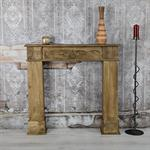 Shabby Deko Kaminumrandung Attrappe aus Holz Pic:1