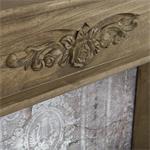 Shabby Deko Kaminumrandung Attrappe aus Holz Pic:3