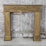 Shabby Deko Kaminumrandung Attrappe aus Holz Pic:6