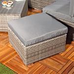 Polyrattan Sofa Sitzgruppe Lounge Grau Pic:2