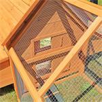 Hühnerstall mit Freigehege aus Holz Pic:4
