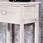 Telefontisch / Regal mit Schublade im Shabby Chic Pic:2