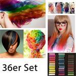 Haarkreide / Hair Chalk 36 Stück ver. Farben