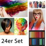 Haarkreide / Hair Chalk 24 Stück ver. Farben