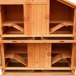4 Boxen Kaninchenstall Hasenstall aus Holz Pic:6