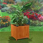 XXL Blumenkübel Pflanzkasten Blumenkasten aus Holz Pic:1