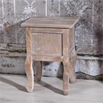 Shabby Nachttisch mit 1 Schublade Holz Braun Pic:5