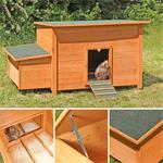 Hühnerhaus mit Brutkasten aus Holz