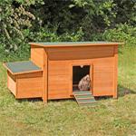 Hühnerhaus mit Brutkasten aus Holz Pic:1