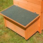 Hühnerhaus mit Brutkasten aus Holz Pic:2