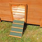 Hühnerhaus mit Brutkasten aus Holz Pic:5