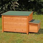 Hühnerhaus mit Brutkasten aus Holz Pic:6