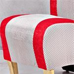 Mini Polster Sessel Stuhl - Rot  / Grau Pic:4