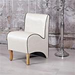 Mini Polster Sessel Stuhl - Beige Pic:1