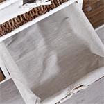 Vintage Sideboard Wandschrank - braun / weiß Pic:5