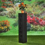 Garten Dekosäule aus verzinktem Blech - Welcome Pic:2