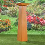 Garten Dekosäule mit Pflanzschale aus Edelrost Pic:8