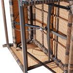 Rattan Sofa inkl. zwei Sesseln und Tisch - Braun Pic:7