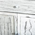 Shabby Kommode Schrank mit Schubfach und Türen Pic:3