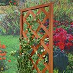 Blumenkübel mit Rankgitter Holz Pic:3