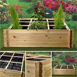 Pflanzkasten / Blumenkasten aus Holz