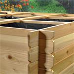 Pflanzkasten / Blumenkasten aus Holz Pic:2