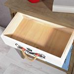 Sideboard Wandschrank shabby weiß/blau/braun/grau Pic:5