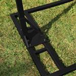 Polyrattan Swing Chair Hängesessel - schwarz Pic:5