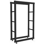 100x60CM Kaminholzständer Brennholzregal
