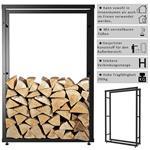 150x80CM Kaminholzständer Brennholzregal Pic:3