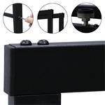 150x80CM Kaminholzständer Brennholzregal Pic:5