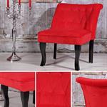 Polstersessel / Esszimmerstuhl in Rot