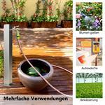 95CM Edelstahl Gartenzapfsäule Wassersäule Pic:3