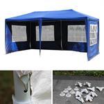 3x6M Gartenpavillon Partyzelt  - Blau