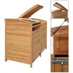 Mülltonnenbox - Einzelbox + Anbaubox
